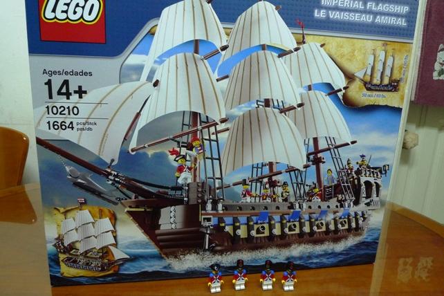 2010年 海盜系列 10210 Imperial Flagship